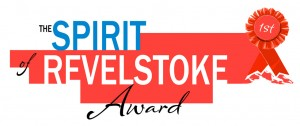 Spirit of Revelstoke Award Logo